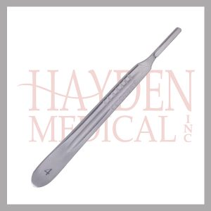 "040-408 Scalpel Handle #4 - for blade sizes #20-25, Extra Fine 5-1/4"" (13.1cm)"
