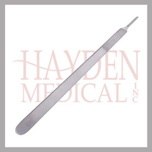 "Scalpel Handle #3 Long - for blade sizes #10-15, Extra Fine 8"" (20cm)"