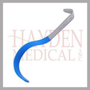 "Deaver Pediatric Retractor 23/32"" (19mm) x 7-1/4"" (22.5cm), flat handle, NON-CONDUCTIVE"