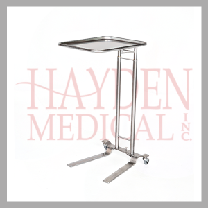 Foot-pedal Stainless Steel Mayo Stand hcm750