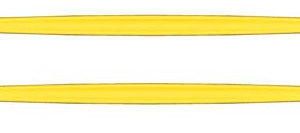 Double Ended Desmarres Lid Retractor (Transparent Yellow)