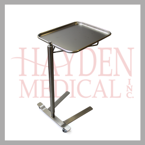 Thumb Controlled Stainless Steel Mayo Stand hcm760
