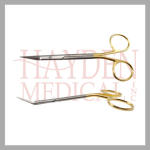 Giunta Nasal Scissors, angled upwards, 5-1_4'' (13.5cm), angled shanks, TC Super-Cut 500-475