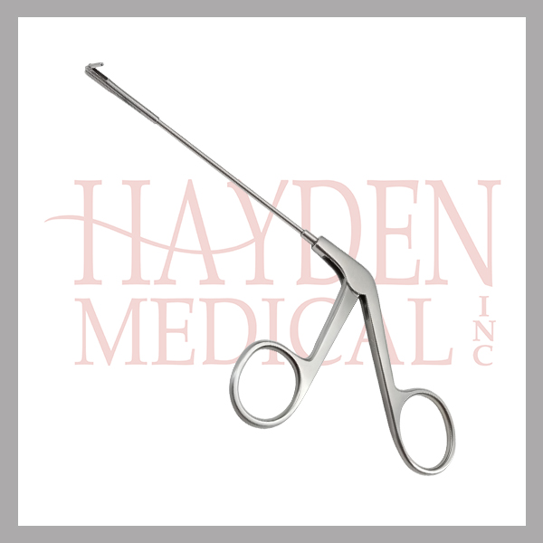 Ostrom Antrum Punch (Backbiter), working length 4' (10cm), pediatric, backward cutting, leftt-side cutting 1.5mm bite 200-985