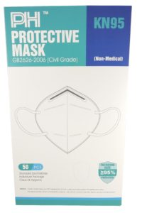 KN95 Mask – Box/50, Disposable