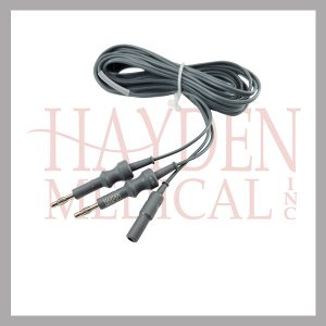 218-000-Bipolar-RF-Cable-for-Bipolar-Scissors-units-with-dual-banana-plugs-Valley-Lab-Etc