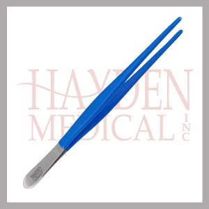 L120-014C-Dressing-Forceps-8_-20cm-serrated-NON-CONDUCTIVE-coated-tip