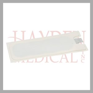 LA6049 ESU Conductive Electrode Pads (3M, Circon) without cable, single-use disposable, bag of 25